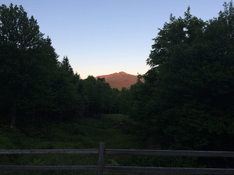 View of Mt Madison, from Madison Porch