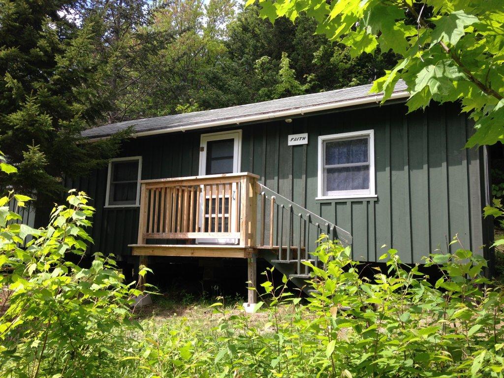 A camper cabin