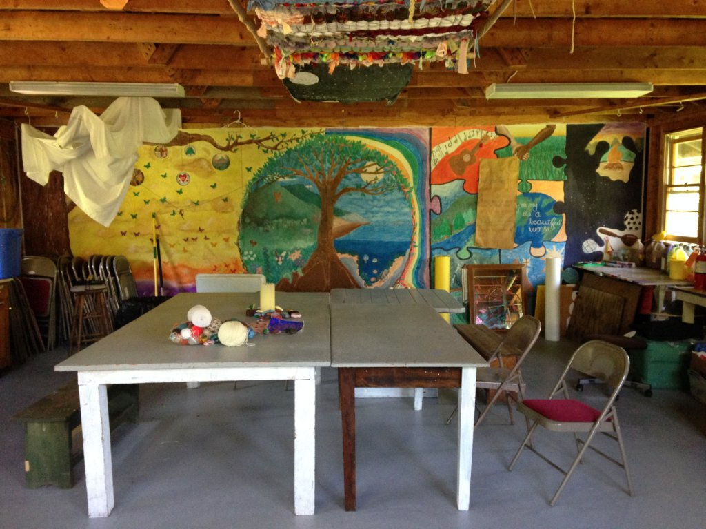 The Ark, art room
